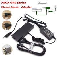 xbox one power al por mayor-Fuente de alimentación del adaptador de CA del sensor Kinect 2.0 para Xbox one S / X / PC con Windows, XBOXONE Slim / X Kinect Adapter