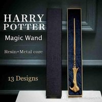 Wholesale wand novelty toy for sale - Group buy Newest Metal Core Harry Potter Magic Wand Lord Voldemort Cosplay Magical Wand Novelty Items