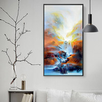 Wholesale fine oil paintings for sale - Group buy Oil paintings abstract wall of Fine Arts sight decorative paintings for the decoration of the Hotel Club of the living room