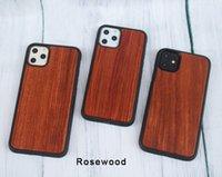 natürliche hölzerne abdeckung iphone groihandel-Für iphone 11 xs max xr 7 plus naturholz fällen hohe qualität stoßfest holz bambus handy abdeckung für samsung galaxy note 10 s10