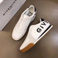 primeiro sapato baixo venda por atacado-Primavera 2019 Glvenc * y Sapatos desportivos low-top masculinos, na primeira camada de couro bovino, com reforço de borracha natural de sola de borracha bicolor. G1