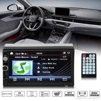 Wholesale yentl inch Car DVD MP5 Multimedia Player Din Radio Touch Screen Bluetooth FM USB AUX Support Top Sale Player Audio Stereo