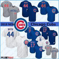 ingrosso baseball top uomini-nuova Anthony 44 Rizzo Javier 9 Baez Uomini Baseball maglie Chicago 12 Kyle Uomini Kris 17 Bryant 23 Sandberd superiore