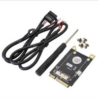 pci e express toptan satış-Yeni PCI-E Mini PCI Express Adaptörü V3.0 BCM94360CD için BCM94331 CM