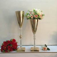wholesale tall gold vases for resale group buy cheap tall gold rh dhgate com