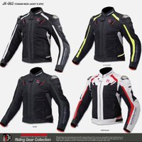 Wholesale race titanium alloys for sale - Group buy komine jk titanium alloy automobile race motorcycle jacket ride service popular brands clothing T191116