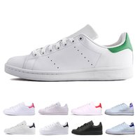 3430c0934ef5 Adidas stan smith 2019 marque pas cher STAN hommes femmes formateur sportif  chaussures respirant chaussures de skateboard smith Casual noir blanc vert  ...