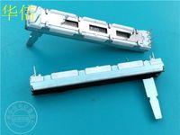 ingrosso giunto del potenziometro-Joint Venture 60mm Potenziometro a doppio vetrino Clipper d'avanguardia Djm -600 B10k 20d sfondo bianco