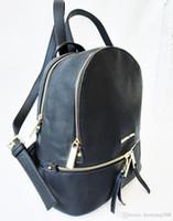 fb60975ac17a5 2019 rucksäcke designer 2017 mode damen dame schwarz rot rucksack tasche  charms kostenloser versand MK