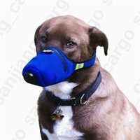 Wholesale respiratory mask n95 for sale - Group buy In Stock Dog Soft Face Cotton Mouth Masks Pet Respiratory N95 Filter Anti Dust Gas Pollution Muzzle Anti fog Haze Masks for Dogs DHL E3901