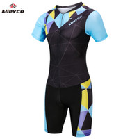 Wholesale ciclismo maillot bike resale online - Cycling Clothing Set Mens Bicycle Maillot MTB Racing Triathlon Suit Ropa Ciclismo Summer Bike Jersey Padded Cycling Clothes