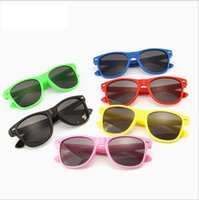 Wholesale toy semi online - Kids Baby cute Anti uv Sunglasses Sun shading Eyeglasses Girl Boy Sunglass outdoors travel colorful types Accessories glasses toy CNY1061
