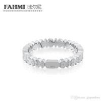отправить кольцо оптовых-FAHMI 100% Кольцо Медведь из Стерлингового Серебра 925 Для Отправки Подругам Пары Подарок Кольцо Женские Модели 512725520 Бесплатно Элегантные Украшения