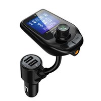 Wholesale portable mp3 player for car for sale - Group buy Sale newest Car FM Transmitter MP3 Player Support TF Card Portable Car MP3 Player With USB Ports for cellphone