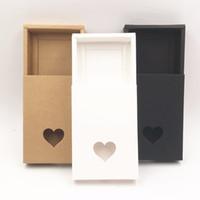caja para dulces hechos a mano al por mayor-Cajas de regalo de cajones hechos a mano de papel kraft marrón, caja de embalaje de bricolaje / caja de embalaje para dulces \ Pastel \ Joyería \ Regalo \ chocolate 50pcs / lot