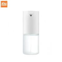 dispensador de sabão automático com sensor de infravermelhos venda por atacado-Em estoque Xiaomi Mijia Auto Indução De Espuma De Sabão de Mão Máquina de Lavar Sabão Sensor Automático 0,25 s Sensor Infravermelho Para Casa Inteligente
