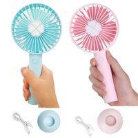 sis püskürtme elektrikli fan toptan satış-Mini El fan Küçük çocuklar çocuklar için taşınabilir fanlar USB Şarj Edilebilir Sessiz 3 Hızları için Kişisel elektronik S ...