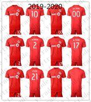 üniformalar toptan satış-2019-2020 Toronto Futbol Forması Erkekler 10 Sebastian Giovinco Osorio Set Altidore Morrow Özel FC Futbol Gömlek Setleri Üniforma Kırmızı Yapmak