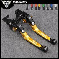 Wholesale aprilia clutch lever resale online - RiderJacky Folding Extendable Motorcycle Brakes Clutch Levers For Aprilia CAPONORD ETV1000