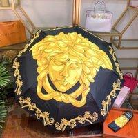 alüminyum seyahat kutuları toptan satış-Moda Tasarımı Alüminyum Alaşım Şemsiye En Lüks Tasarım Şemsiye Güneş Koruma Seyahat Temel Şemsiye Hediye Kutusu