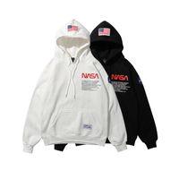 Wholesale hip hop for sale - Brand New NASA Hoodie Hip Hop Street Sport Mens Designer Hoodies Loose Fit Heron Preston Pullover Sweatshirt