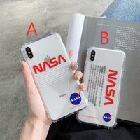 Wholesale phone s for sale - Group buy NASA US street Trend astronaut Space Soft off silicon cover for iphone pro max S S plus plus X XR XS white Max phone case