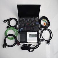 logiciel de diagnostic mb star achat en gros de-Outil de diagnostic MB Star C5 SD Connect C5 avec version de logiciel 03/2019 DTS Monaco X DSA Vediamo WIS avec ordinateur portable X201 i7 8GB