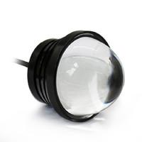 focos de tornillo al por mayor-2 unids Spotlight DRL Motocicleta Eagle Eye lámpara + Luz de circulación diurna LED Fuente de la lámpara del tornillo del coche Fuente de luces diurnas 12v Automóvil