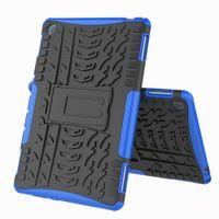 Wholesale mediapad lite resale online - Hybrid KickStand Impact Rugged Heavy Duty TPU PC Cover Case FOR Huawei MediaPad T3 WIFI T3 M5 M5 LITE