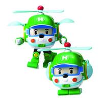 аниме девочка мальчик игрушка оптовых-Silverlit Transform RoboCar POLI Helly дистанционного ручного управления DESSIN Anime Робот автомобилей Малыши Деформация робот по уходу за детьми Мальчики Девочки Игрушки 3-6T 04