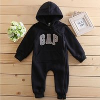 Wholesale high quality baby clothing for sale - Group buy Hooded High quality New cute baby rompers jumpsuit comfortable clothing for new born babies m baby wear newborn baby clothing