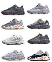 azul turquesa al por mayor-2020 kanye west adidas yeezy boost 700 v2 yeezys chaussures men yecheil scarpe yezzy shoes 3m white black reflective mens women stock x sneakers