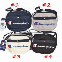 bolso de mano de un hombro al por mayor-Champion brand Designer Crossbody Bag hombres mujeres Nylon bolsos de hombro deportivos bolsos de mensajero al aire libre Bolsos de lujo Bolsos de viaje C82009