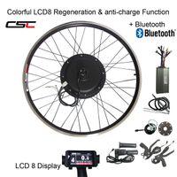 CSC E BIKE 48V 1500W MTB Electric bike Kit 20 24 26 27.5 28 29 inch 700C Front Rear Bike Wheel Hub Motor conversion kit with LCD display