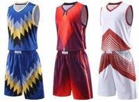 özel tasarım giyim erkek toptan satış-Şort giyim Üniformalar kiti Spor Tasarım Custom ile Top Özelleştirilmiş basketbol Formalar Erkekler Mesh Performans özel forması Setleri mens giyim
