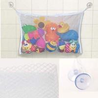 bebek ördek örtüsü yanıp sönüyor toptan satış-Bebek Banyo Örgü Çanta Çocuk Banyo Oyuncak Çanta Net Vantuz Sepetleri buggy çanta Sıcak satış Yıldız ürün