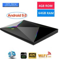 Wholesale android media player iptv resale online - 1 Android TV Box GB GB Allwinner H6 Quad Core K Ultral HD Streaming Media Player G Wifi Smart TV box IPTV media player