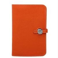 porte-téléphone portable passeport achat en gros de-Designer- Nouvelle marque de luxe portefeuille femme sac à main sac passeport titulaire de la femme en cuir véritable portefeuille de téléphone portable sac à main livraison gratuite