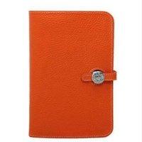 soporte para teléfono móvil pasaporte al por mayor-Diseñador- Nueva marca de cartera de lujo bolso de las mujeres Bolso del pasaporte Titular de las mujeres de cuero genuino teléfono celular Monedero Envío Gratis
