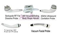 kavitations-vakuumwalzmaschine groihandel-EU steuerfrei PRO 5IN1 Liposuction Roller Kavitationsgeräte Tripolar Hochfrequenz Vakuum RF Ultraschall Kavitations Fettabsaugmaschine