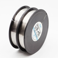 NK SS316L 34ga 36ga 38ga 40ga 42ga 44ga round wire 1000ft spool electric resistance wire coil stainless steel wire for e cig atomizer wick