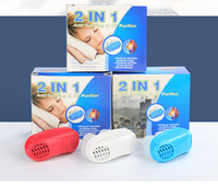 Wholesale stop toys online - Anti Snoring Apnea Kit Mouthpiece Anti Snore Air Purifier Snoring Stopper in1 Stop Snoring Solution with Retail Box Funny Toys B2143