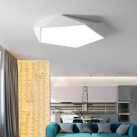 sat metre toptan satış-Yaratıcı geometrik sanat led aydınlatma için tavan lambası Oturma odası lamba çalışma koridor balkon Tavan Aydınlatma