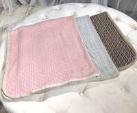 Wholesale crochet cotton blanket for sale - Group buy New Born Baby Blanket Knitted Newborn Swaddle Wrap Blankets Super Soft Toddler Infant Bedding Quilt for Bed Sofa Basket Stroller crochet Bla