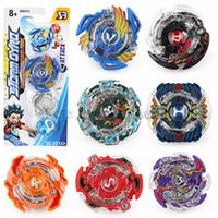 cuchillas de aleación al por mayor-Beyblades Alloy Beyblade con caja de color Gyro Desk Top Game para niños Regalo sin lanzador Los mejores juguetes para niños