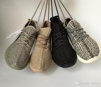botas de exterior venda por atacado-2019 NEWS VENDA MELHOR Qualidade 350 s Sapatos Pirata Preto Moonrock Oxford Tan Branco Kanye West 350 s Botas Casuais Ao Ar Livre Luz Running Shoes