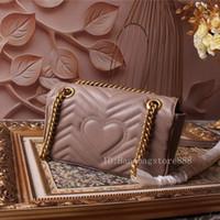 ingrosso amore tote-borse di lusso delle donne la borsa dello zip a forma di cuore amore borsa delle signore del progettista catena spalla borse casuali moda borsa tote Bag