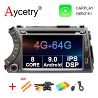 Wholesale ssangyong radio for sale - Group buy 4G G CORE din Android car dvd multimedia player GPS Navigation audio for ssangyong Kyron Actyon car radio RDS obd2 dvr