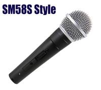ingrosso interruttore classico-Sm Classic 58 57 Traditional Sm58sk Wired Palmare Vocal Karaoke Singing Microfono dinamico con interruttore T190704