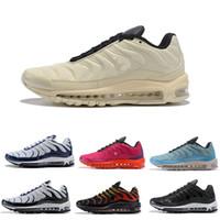 Wholesale sports shoe lovers resale online - 2019 new arrival Plus TN Tuned White Navy hybrid men women Lover running shoes sport sneaker